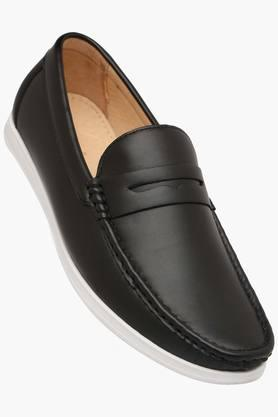 TRESMODE Mens Leather Slip On Loafers  ... - 202252417