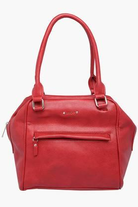 STOP Womens Zipper Closure Shoulder Handbag - 202245825_9612
