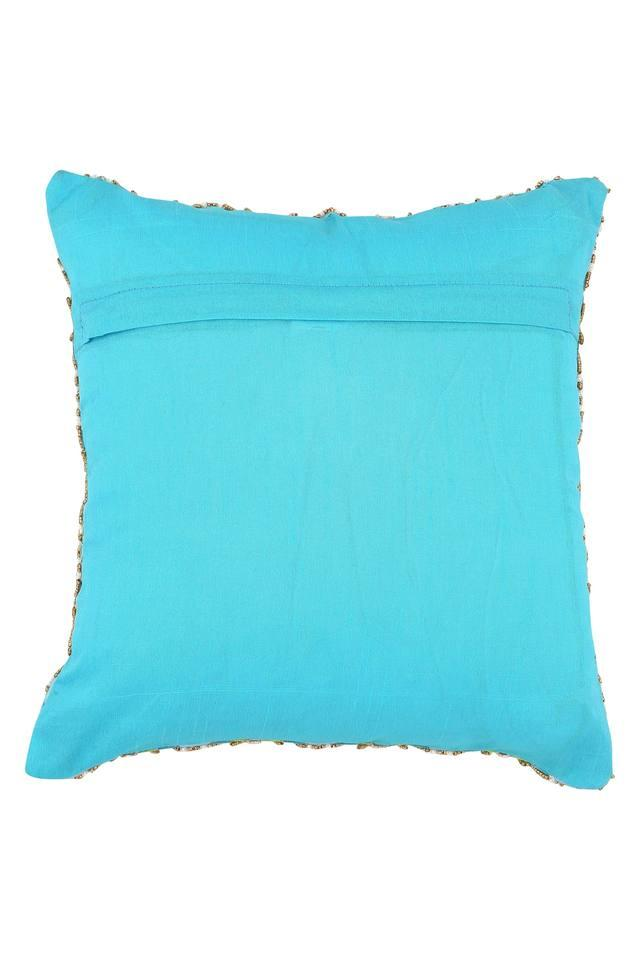Square Diamond Embellished Cushion Cover