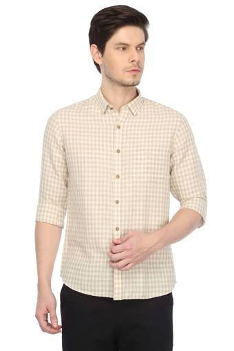 TRUE BLUE -  Beige Shirts - Main