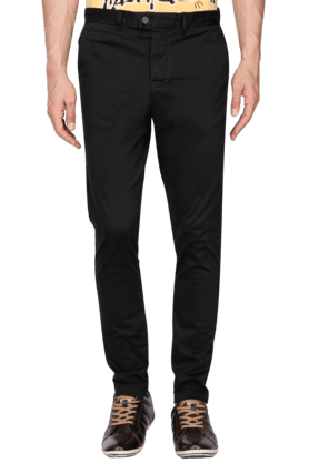 JACK AND JONESMens Slim Fit Solid Chinos