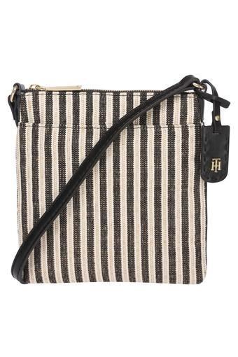 Womens Zip Closure Crossbody Handbag