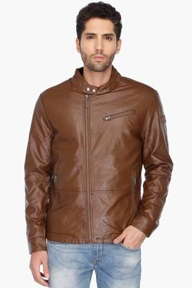 U.S. POLO ASSN. Mens Regular Fit Solid Jacket