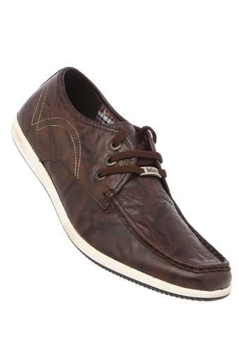 LEE COOPER -  Brown Casual Shoes - Main