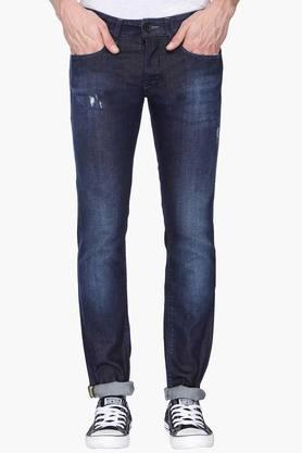 GAS Mens Slim Fit Mild Wash Jeans (Anders Fit)