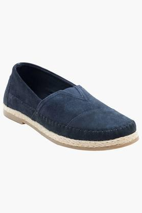 Mens Suede Slip On Casual Loafers