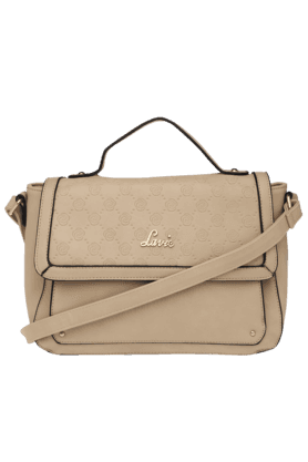 LAVIE Womens Dorothy Snap Closure Sling Bag (Use Code FB20 To Get 20% Off On Purchase Of Rs.1800)