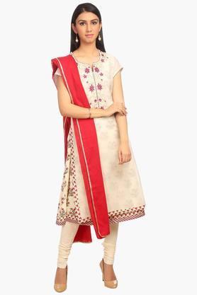 Womens A-Line Poly Cotton Suit Set