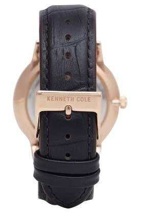 Mens Grey Dial Solar Powered Analogue Watch - KC50784004MN