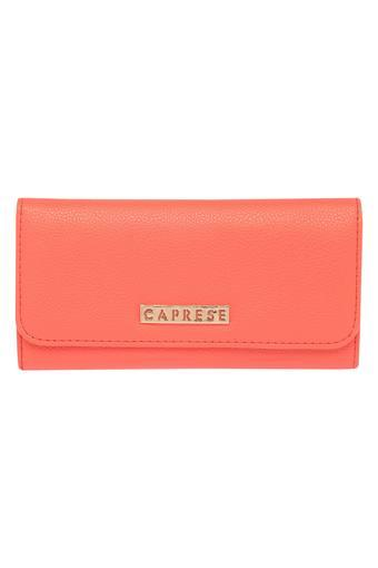 CAPRESE -  Peach Wallets & Clutches - Main
