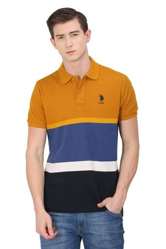 U.S. POLO ASSN. -  Orange T-shirts - Main