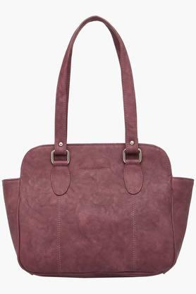 Womens Zipper Closure Synthetic Leather Tote Handbags - 201837601