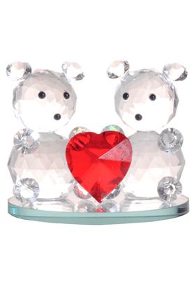 REAL EFFECTTwo Teddy Bears Figurine