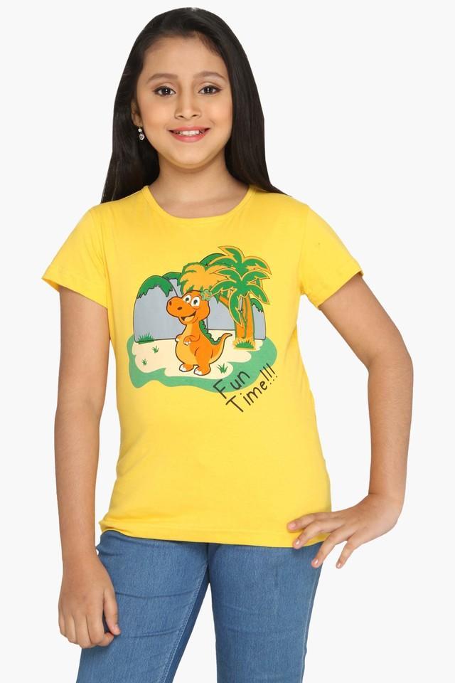 Girls Dino Fun time T-shirt