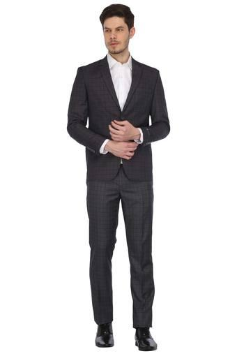 LOUIS PHILIPPE -  Light Grey Suits & Blazers & Ties - Main
