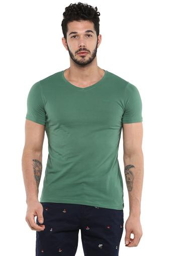 WRANGLER -  Green T-shirts - Main