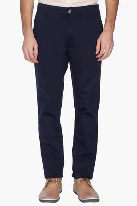 U.S. POLO ASSN. Mens Slim Fit Solid Casual Chinos - 201262010