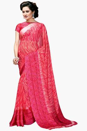DEMARCAWomen Georgette Designer Saree - 202142763