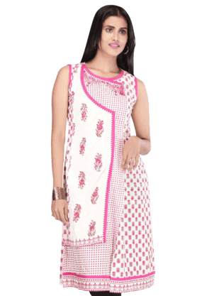 STOP Women Cotton Kurta - 9861707