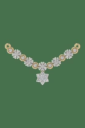 TARA JEWELLERSWomens 18 Karat Gold And Diamond Mangalsutra Pendant - 200944711_9999