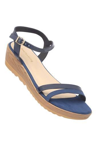 HAUTE CURRY -  Blue Platform & Wedges - Main