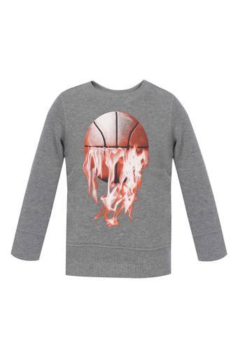 THE CHILDREN'S PLACE -  Grey Topwear - Main
