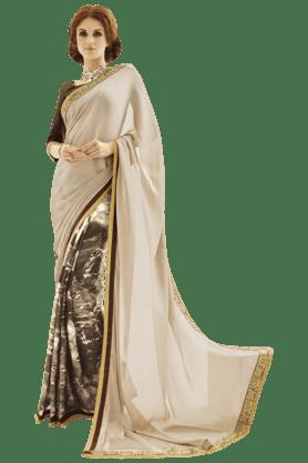 DEMARCAWomen Chiffon Saree - 200355943