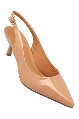 Womens Casual Wear Buckle Closure Pump Shoes