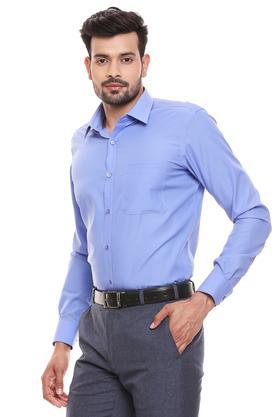 RAYMOND - Dark BlueFormal Shirts - 2