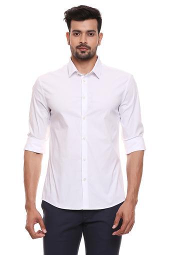 CELIO -  WhiteCasual Shirts - Main