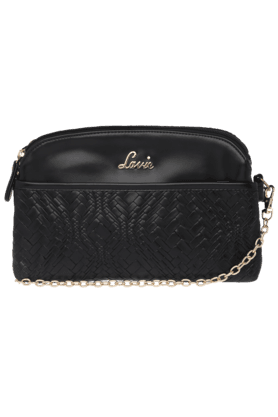 LAVIEWomens Punk 2 Compartment Sling Bag