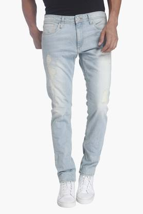 JACK AND JONES Mens 5 Pocket Stretch Jeans (Glenn Fit)
