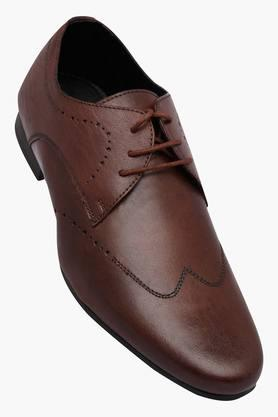 FRANCO LEONE Mens Leather Lace Up Derbys - 202658088