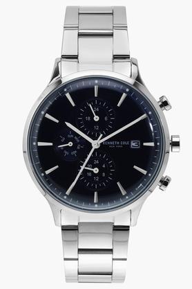 Mens Multi-Function Black Dial Metallic Watch - KC50644001MN