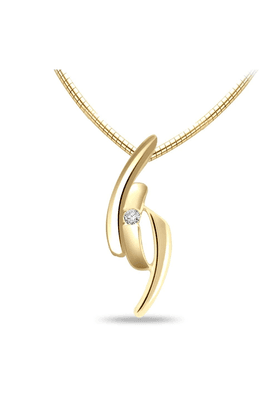 SPARKLESHis & Her Collection 92 Kt Diamond Pendants In 925 Sterling Silver Diamond HHP6307-92KT