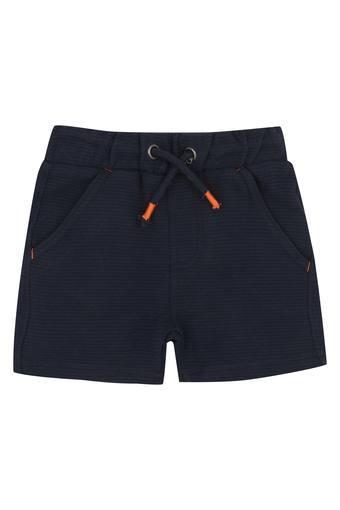 Boys 3 Pocket Striped Shorts