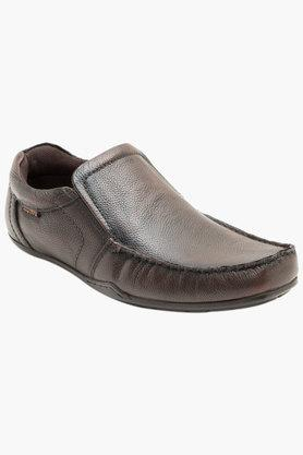 RED TAPE Mens Leather Slip On Formal Loafers  ... - 202389712