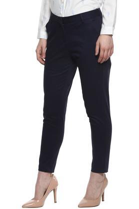 ALLEN SOLLY - Dark BlueTrousers & Pants - 2