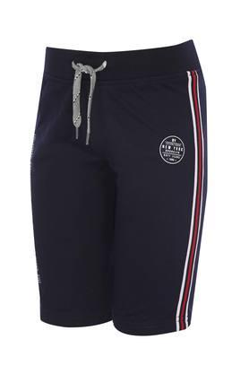 Boys Single Pocket Solid Shorts