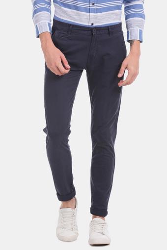 AEROPOSTALE -  NavyCasual Trousers - Main