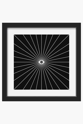 CRUDE AREA Black Big Brother Invert Printed Art Print (Small)  ...