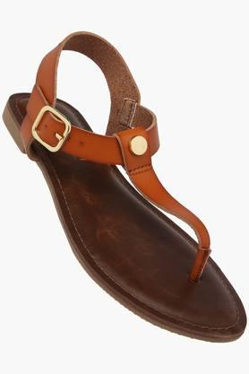 STEVE MADDEN Womens Casual Wear Buckle Closure Flat Sandals  ... - 202204354