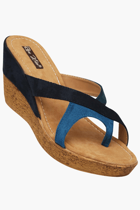 RAW HIDE Womens Daily Wear Slipon Wedge Sandal - 200805928
