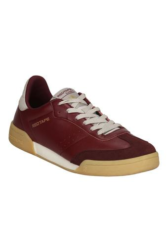 RED TAPE -  Burgundy Casual Shoes - Main
