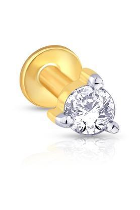 MALABAR GOLD AND DIAMONDSWomens Mine Diamond Nosepin NP71042