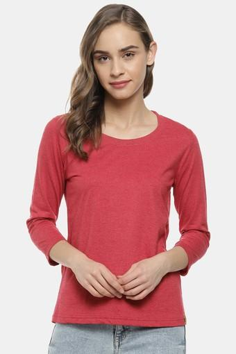 CAMPUS SUTRA -  MaroonTops & Blouses - Main