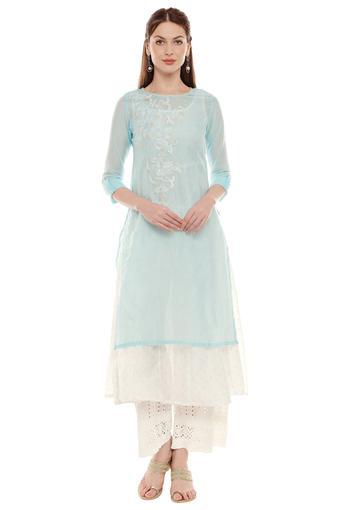 IMARA -  BlueEthnic Dresses - Main