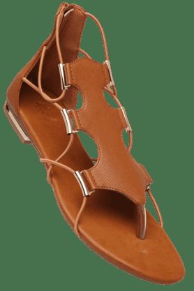 TRESMODEWomens Slipon Flat Sandal