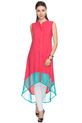 Womens Sleeveless Kurta