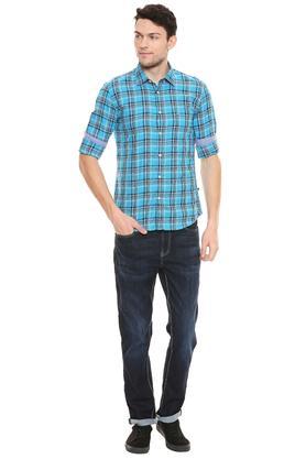 PARX - Dark BlueCasual Shirts - 3